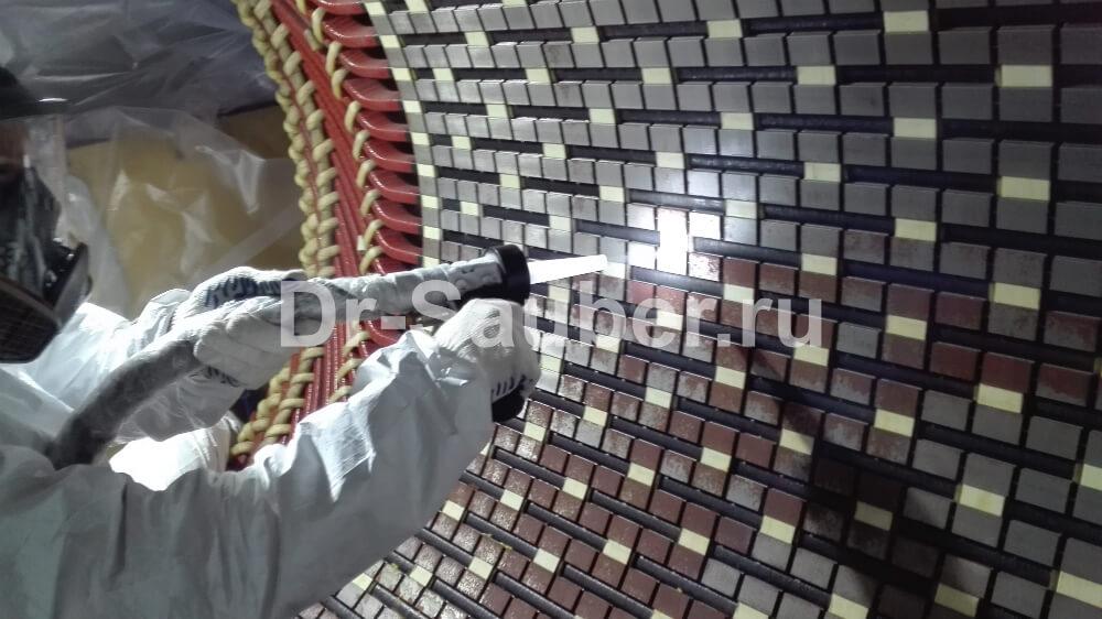 Очистка статор-роторных установок методом криогенного бластинга