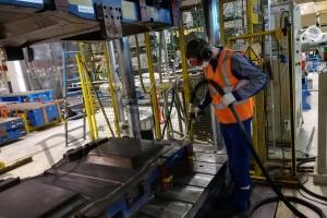 Очистка производственного оборудования