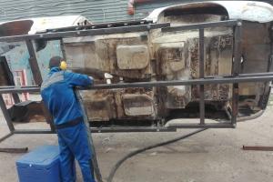 Очистка корпусов и кузовов