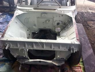 Очистка кузова автомобиля методом криобластинга