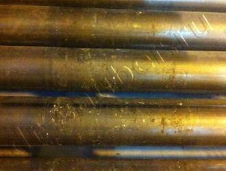 Очистка конвейерных линий методом криобластинга (до)