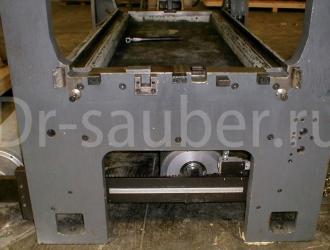 Очистка печатных секций методом криобластинга