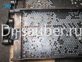 Очистка ячеек в пищевой промышленности